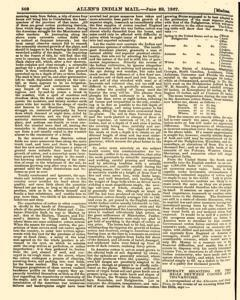 London Allen Indian Mail and Official Gazette, June 28, 1867, Page 6