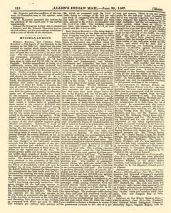 London Allen Indian Mail and Official Gazette, June 28, 1867, Page 16
