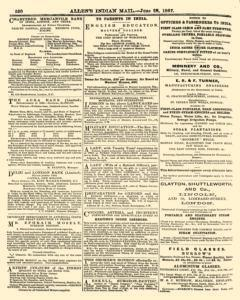 London Allen Indian Mail and Official Gazette, June 28, 1867, Page 18