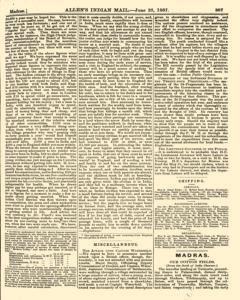 London Allen Indian Mail and Official Gazette, June 28, 1867, Page 5