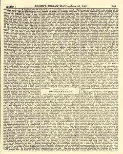 London Allen Indian Mail and Official Gazette, June 28, 1867, Page 7