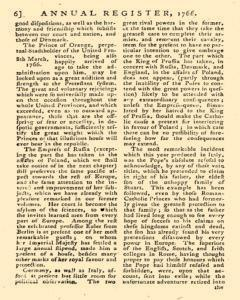 London Annual Register, January 01, 1766, Page 9