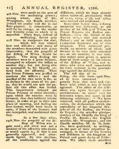 London Annual Register, January 01, 1766, Page 15