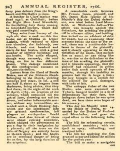 London Annual Register, January 01, 1766, Page 97