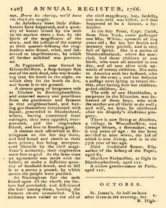 London Annual Register, January 01, 1766, Page 143