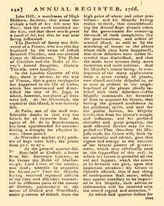 London Annual Register, January 01, 1766, Page 145