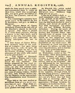 London Annual Register, January 01, 1766, Page 147