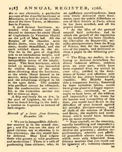 London Annual Register, January 01, 1766, Page 161