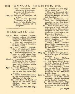 London Annual Register, January 01, 1766, Page 165