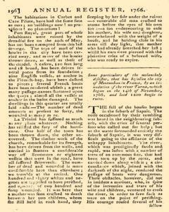London Annual Register, January 01, 1766, Page 199