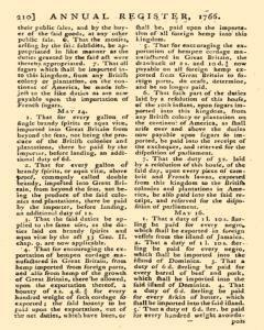 London Annual Register, January 01, 1766, Page 213