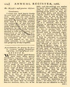 London Annual Register, January 01, 1766, Page 227