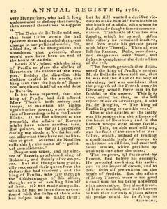London Annual Register, January 01, 1766, Page 250