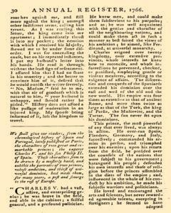 London Annual Register, January 01, 1766, Page 268