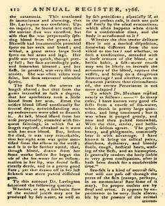 London Annual Register, January 01, 1766, Page 350