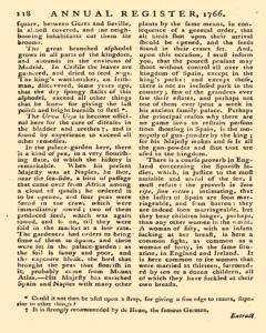 London Annual Register, January 01, 1766, Page 356