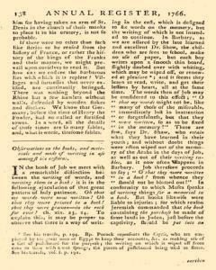 London Annual Register, January 01, 1766, Page 376