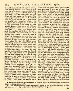 London Annual Register, January 01, 1766, Page 442