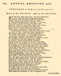 London Annual Register, January 01, 1766, Page 502