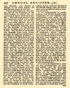 London Annual Register, January 01, 1781, Page 31