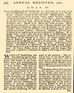 London Annual Register, January 01, 1781, Page 101