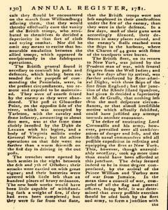London Annual Register, January 01, 1781, Page 133