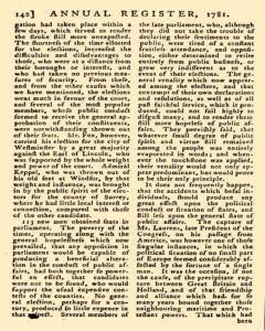 London Annual Register, January 01, 1781, Page 145