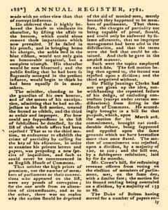 London Annual Register, January 01, 1781, Page 191