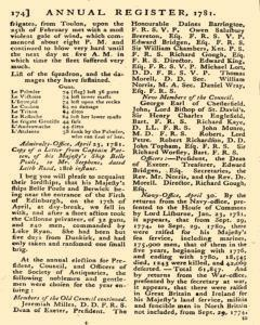London Annual Register, January 01, 1781, Page 220