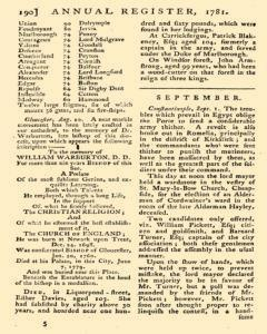 London Annual Register, January 01, 1781, Page 236