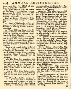 London Annual Register, January 01, 1781, Page 254