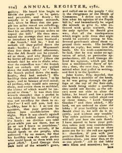 London Annual Register, January 01, 1781, Page 270