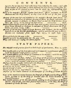 London Annual Register, January 01, 1781, Page 603