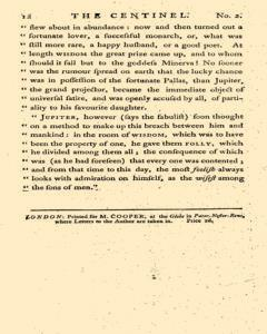 London Centinel, January 13, 1757, Page 6