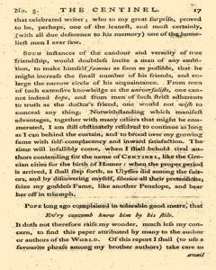 London Centinel, January 20, 1757, Page 5