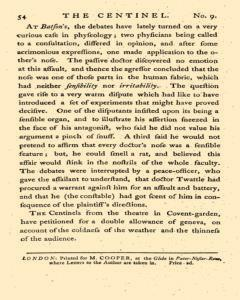 London Centinel, March 03, 1757, p. 6