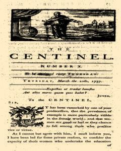 London Centinel, March 10, 1757, Page 1
