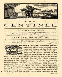 London Centinel, May 05, 1757, Page 1