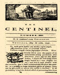 London Centinel, May 26, 1757, Page 1