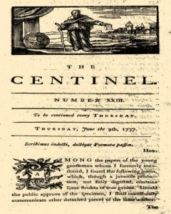 London Centinel, June 09, 1757, Page 1