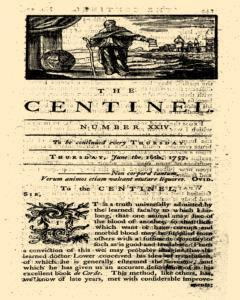London Centinel, June 16, 1757, Page 1