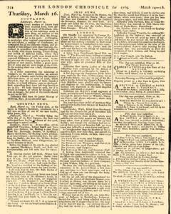 London Chronicle, March 14, 1769, Page 6