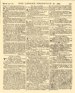 London Chronicle, March 14, 1769, Page 3