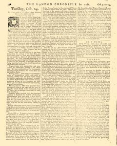 London Chronicle, October 21, 1786, Page 6