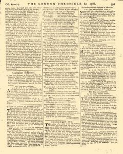 London Chronicle, October 21, 1786, Page 5