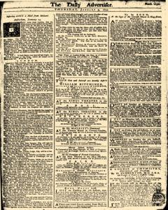 London Daily Advertiser, January 09, 1734, Page 1