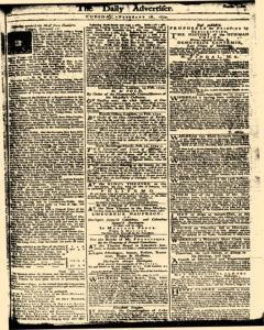 London Daily Advertiser, February 18, 1734, Page 1