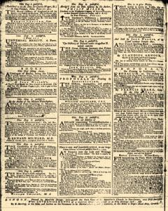 London Daily Advertiser, March 11, 1734, p. 2