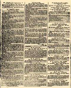 London Daily Advertiser, March 13, 1734, p. 2