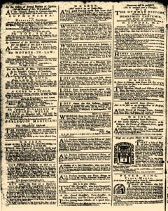 London Daily Advertiser, March 14, 1734, p. 2